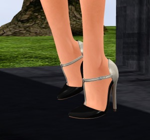 lavian clarity dress, celestine pumps_002