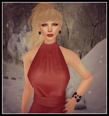 vm syl skirt set red leather_002