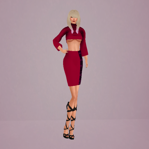 Cammie Outfit and Abela Hair by Tameless