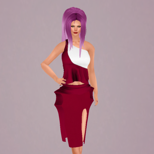 Selfie outfit at 1st on the Rue and Tameless Raya hair