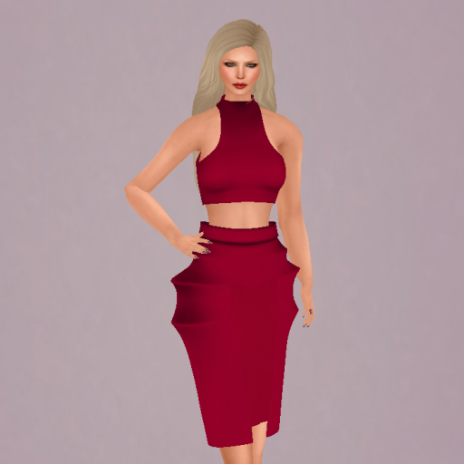 Single Outfit available at 1st on the Rue, Zoe hair by Tameless