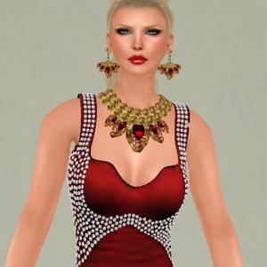 kelini like a diamond red_002