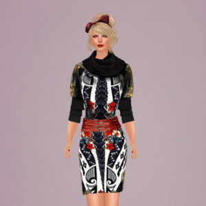 lavian collide dress_001