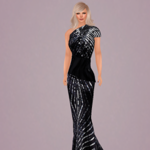 Walk Unafraid Gown