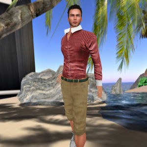 Tony Outfit in Red by Vero Modero