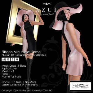 -AZUL-15min of Fame_Ferosh SS15 Fashion Weekend