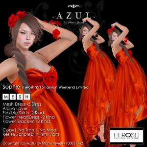 -AZUL-Sophie_Ferosh SS15 Fashion Weekend