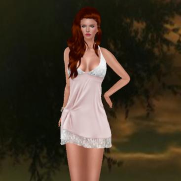 kaithleen's gangsta chemise lingerie dress, virtual diva eve_001