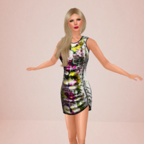 Lavian No Love Allowed with Virtual Diva Candy hair