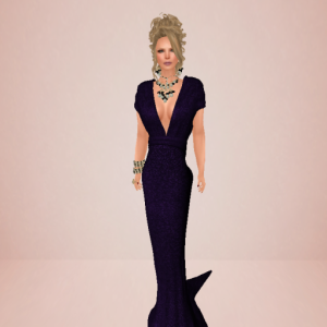 topazia tsarine gown glitter purple_001