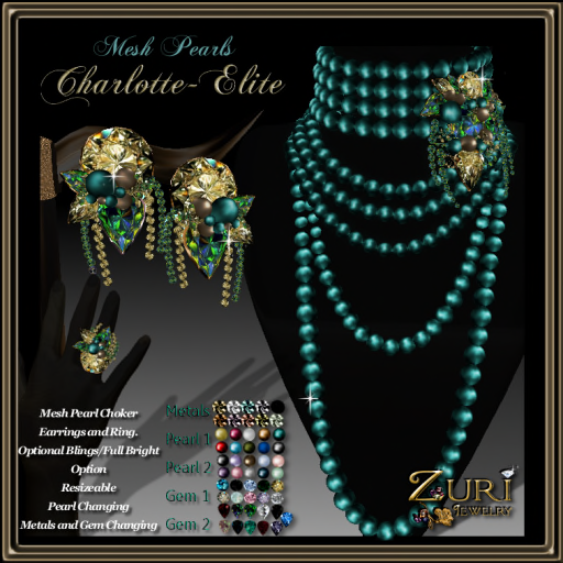 Charlotte Elite Pearls Collection