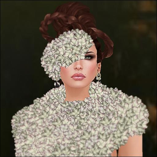 gizza hydrangea dress cream_002