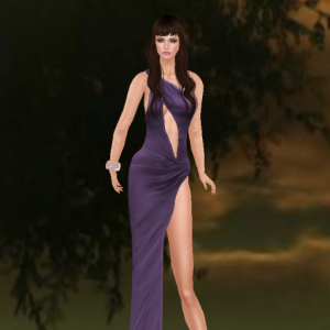 kaithleens long draped nightingale dress purple_001