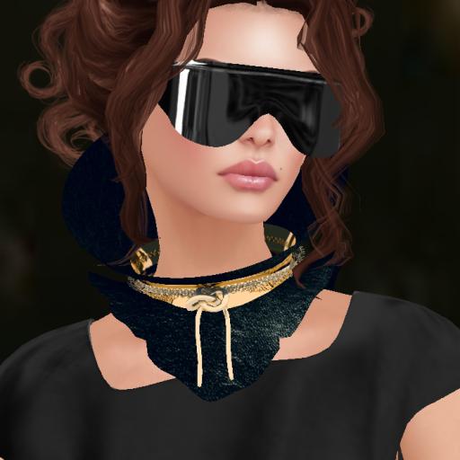 lybra babi dress, kitty collar, bf glasses_002
