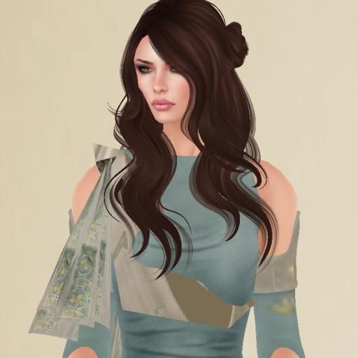 twa queen druantia gown in turquoise_002