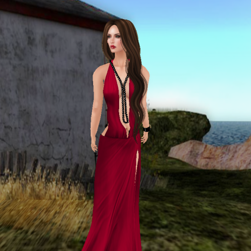kaithleen's alexandra draped gown red_001