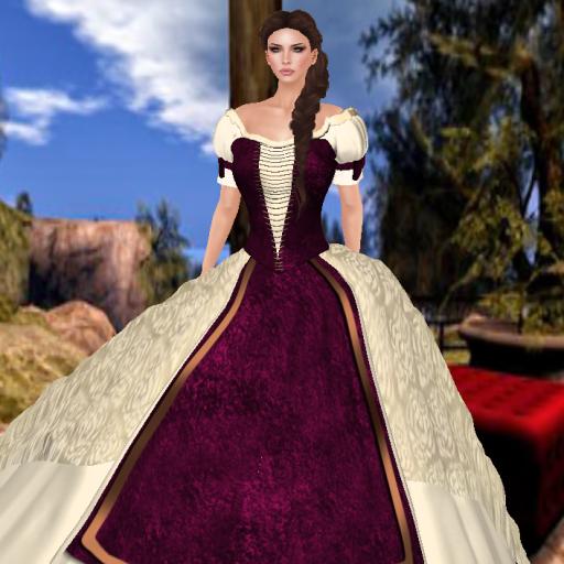 topazia elizabeth gown beige pink_001