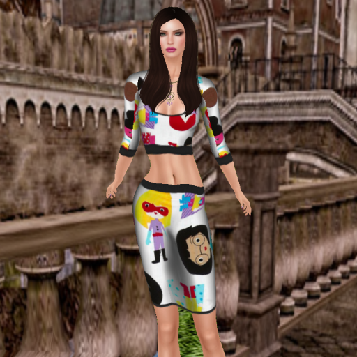 apply me femme couture supergirl skirt set_001