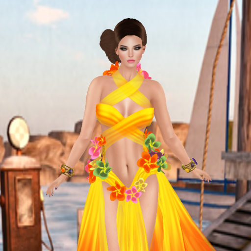 azul anais dress yellow tourmaline_001