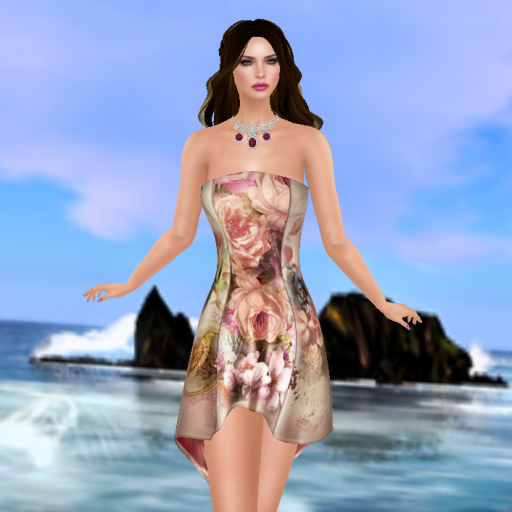 gizza absinthe dress vintage pink_001