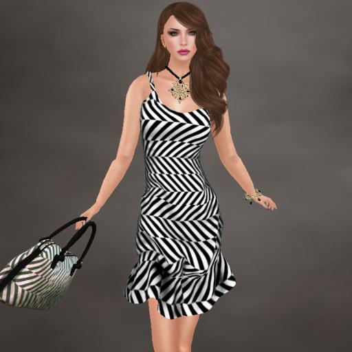 lybra lola striped dress, nicia handbag 16_001