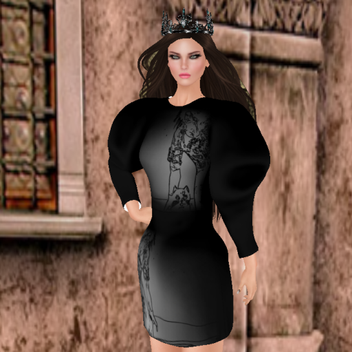 lyrical bizaare leenda, zuri rayna asherah crown black dia-turquoise-diamond-steel_001