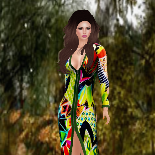 topazia linda dress colorful_001