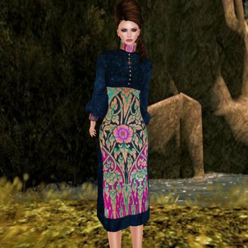 byrne piedra dress cobalt_001
