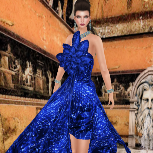 virtual diva chic couture gown in sky_001