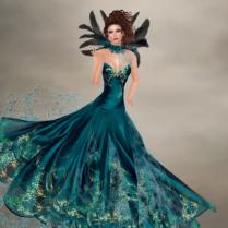 Antonella in Sapphire
