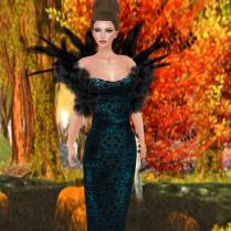 Iolanda in Turquoise