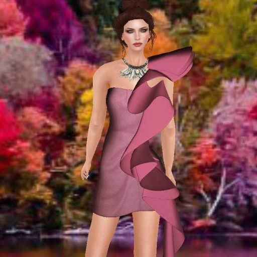 deche ribbons undone dress for ryr_001