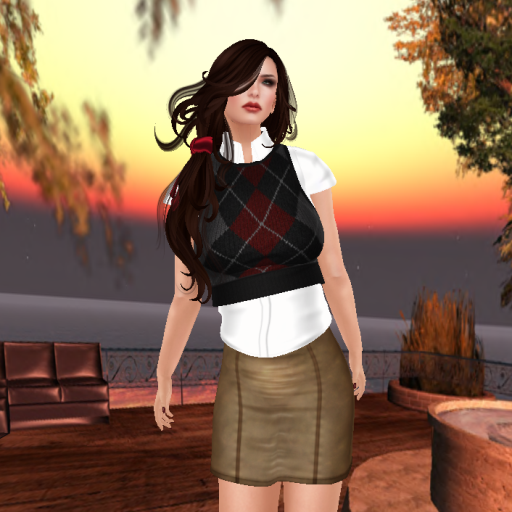 the deck with emotions stephanie 2, the annex sweater vest red, k code angelique skirt, essenz alabama shoes_001