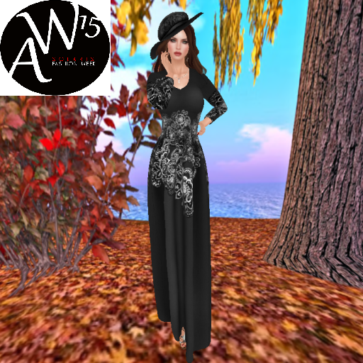 baboom couture geine long dress and arie hat for solaris fw_001